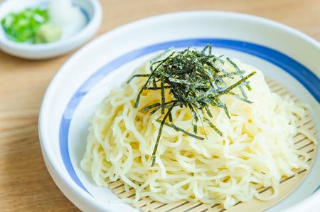 soba: Soba noodles