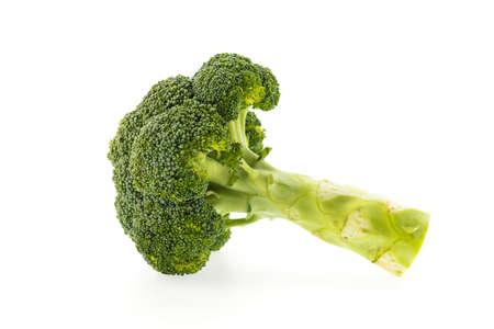brocoli: Broccoli isolated on white