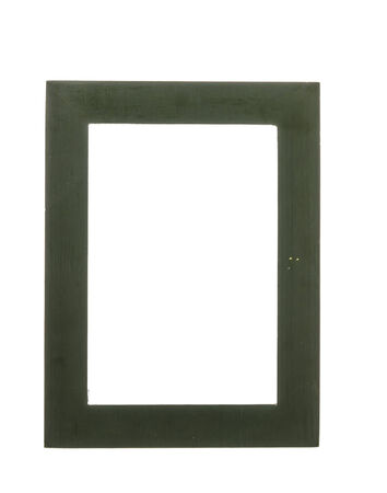 Frame isolated on white photo