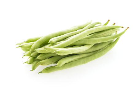 cowpea isolated on white background photo