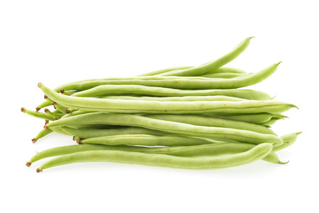 cowpea isolated on white background photo