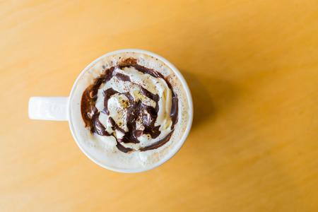 Vanilla coffee photo