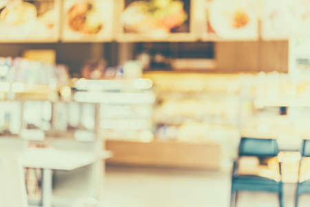 Blur shot coffee shop - vintage effect style pictures photo