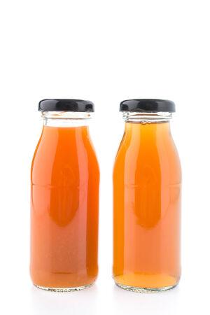 juice bottle: Juice bottle isolated on white