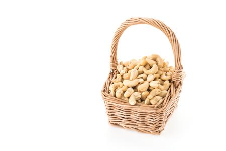cashews: cashews isolated on white background