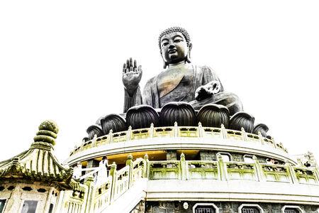 Buddha in hong kong photo