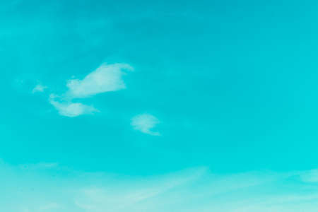 cloudscapes: Clouds on blue sky - Vintage retro effect style pictures Stock Photo