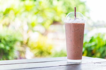 chocolate sweet: Iced chocolate milkshake