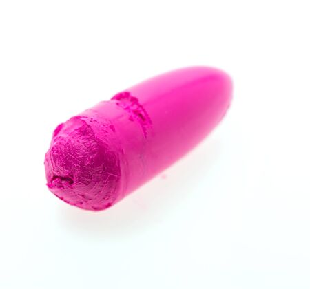 women lipsticks make up  isolated on white background photo