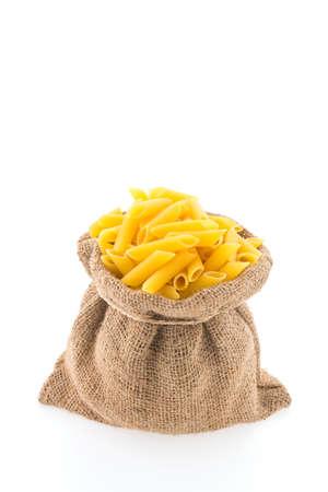 pasta isolated: Pasta isolated on white background