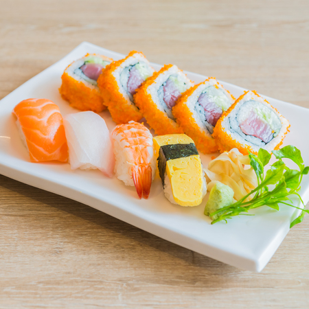 Nigiri Sushi roll - japanese food