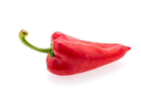 red chilli: Red chilli isolated on white
