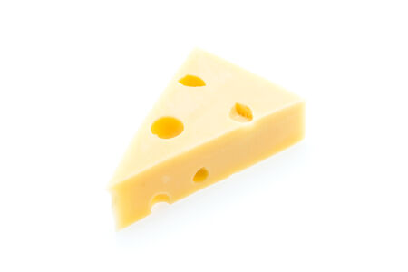 chees: Cheese isolated on white
