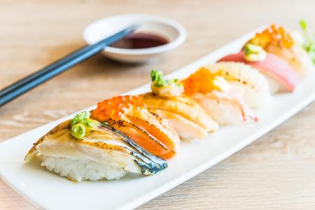 Nigiri sushi - japanese food style