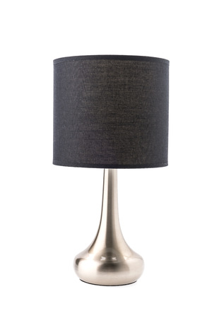 lamp shade: Table lamp isolated on white