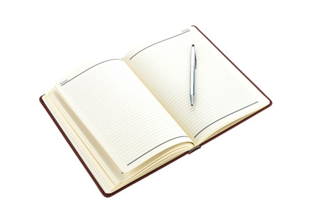 blank note book: Blank Note book isolated on white background