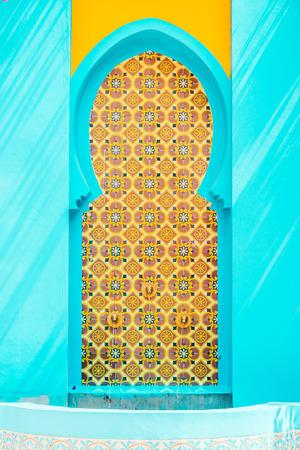 Marokko Architektur-Stil - Vintage-Effekt-Stil Bilder Standard-Bild - 36706689