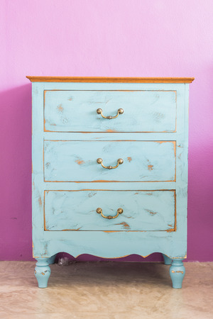 dresser: Vintage Dresser furniture Stock Photo