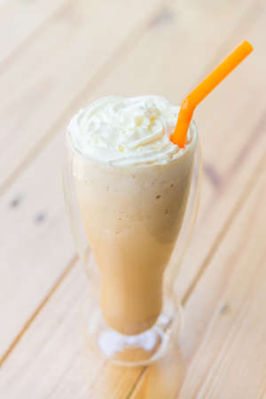 frappe: Iced coffee frappe