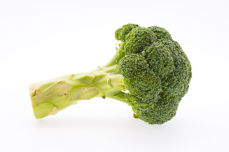 broccolli: Broccoli isolated on white