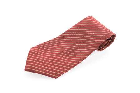 necktie: Necktie isolated on white background Stock Photo