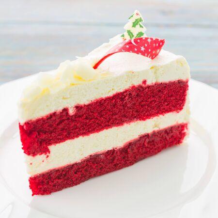 red velvet cupcake: Red velvet cake