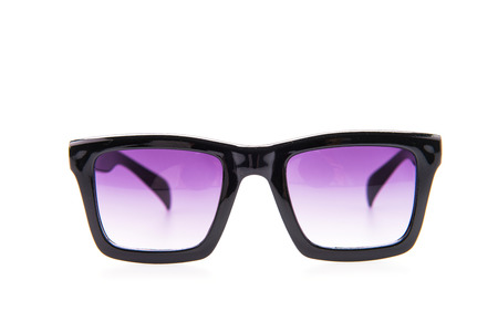 eyewear: Sunglasses eyewear isolated on white