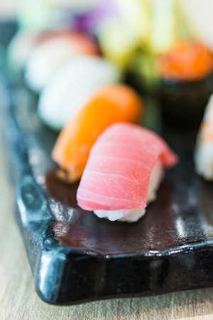 Nigiri sushi, japanese food