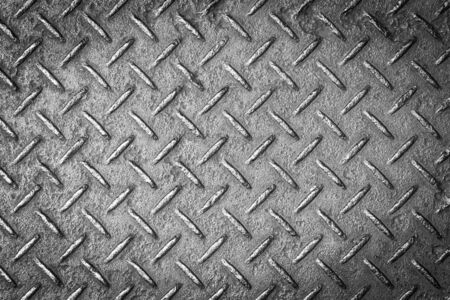 diamond background: Old metal steel background Stock Photo