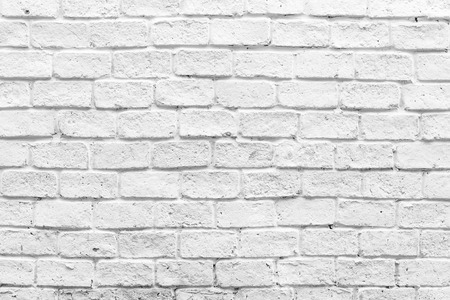 brick: White brick wall textures background