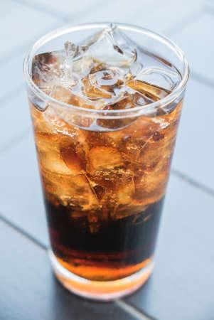 Cola glass photo