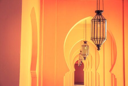 lamp house: Morocco lamp architecture - vintage filter