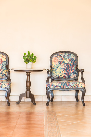 empty chair: Vintage empty chair