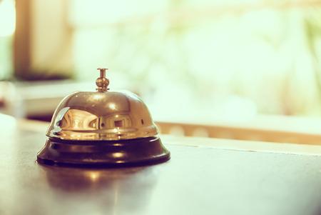 bells: Hotel bell - vintage filter