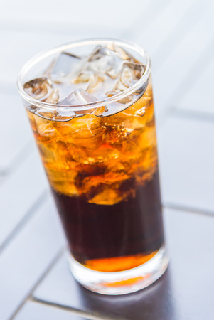 cola: Cola glass