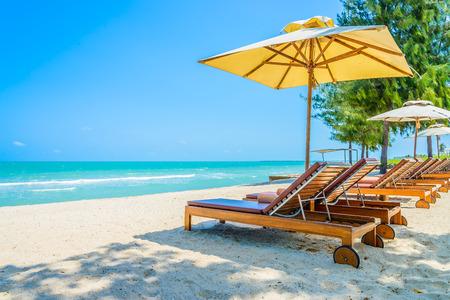 tropical beach: Bed beach on tropical beach