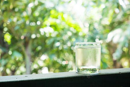 acqua bicchiere: Acqua vetro