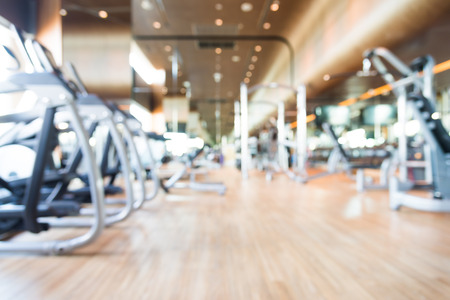 recreation room: Abstract blur gym background