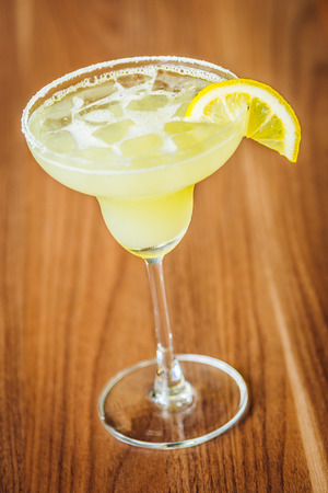 fruit of the spirit: Ice Margarita cocktail lime juice glass