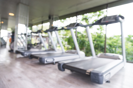 Abstract blur fitness gym background Фото со стока