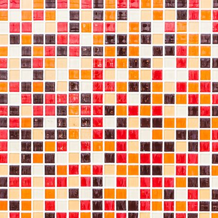mosaic background: Colorful mosaic tiles textures wall background