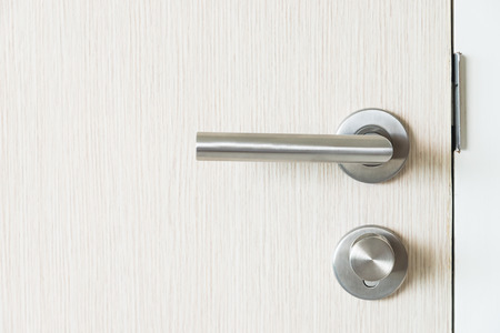 door handle: Door handle kob Stock Photo
