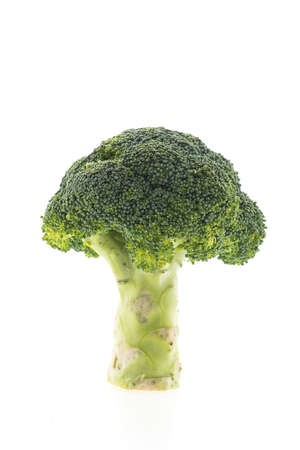 brocoli: Green broccoli vegetable isolated on white background