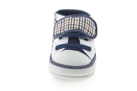 baby shoe: Baby shoe isolated on white background