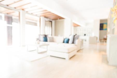 Abstract blur interior background