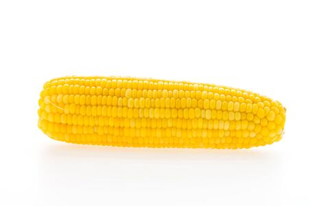 ear of corn: Corn isolated on white background