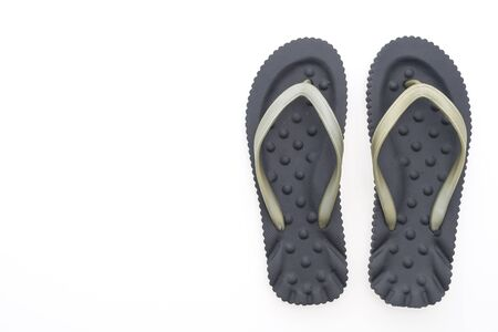 flip flops: Flip flops shoes isolated on white background