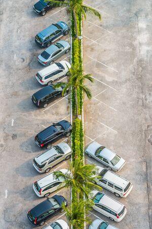 multi story car park: Car parking Stock Photo
