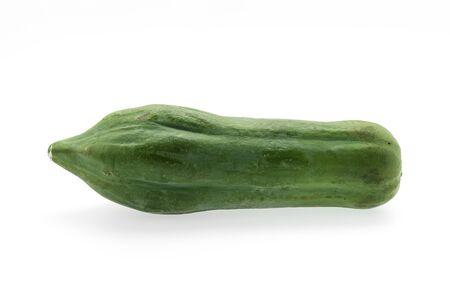 green papaya: Green papaya isolated on white