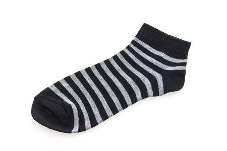 hosiery: Socks isolated on white background Stock Photo